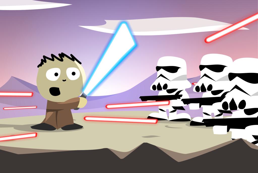 Jedi under attack