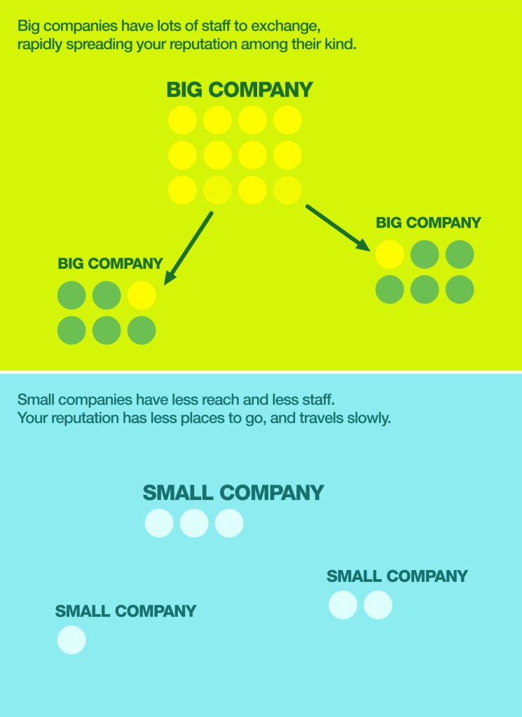 Big and Small companies