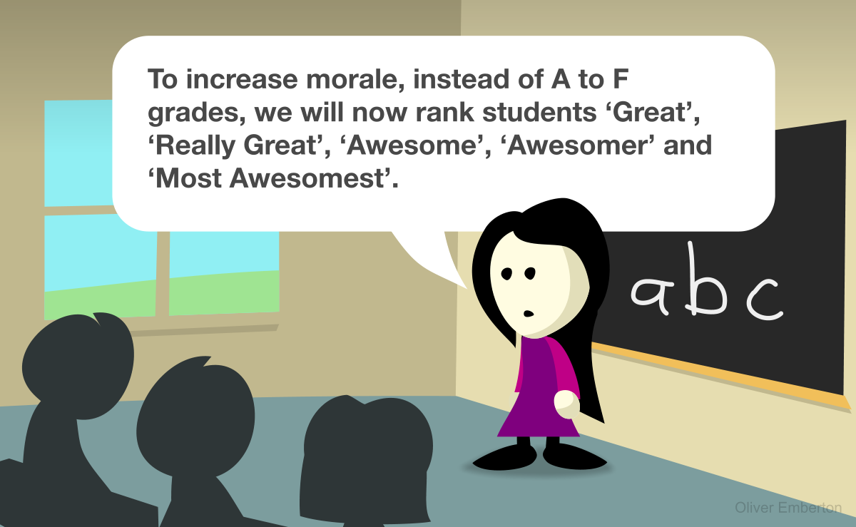 The new way to rate students